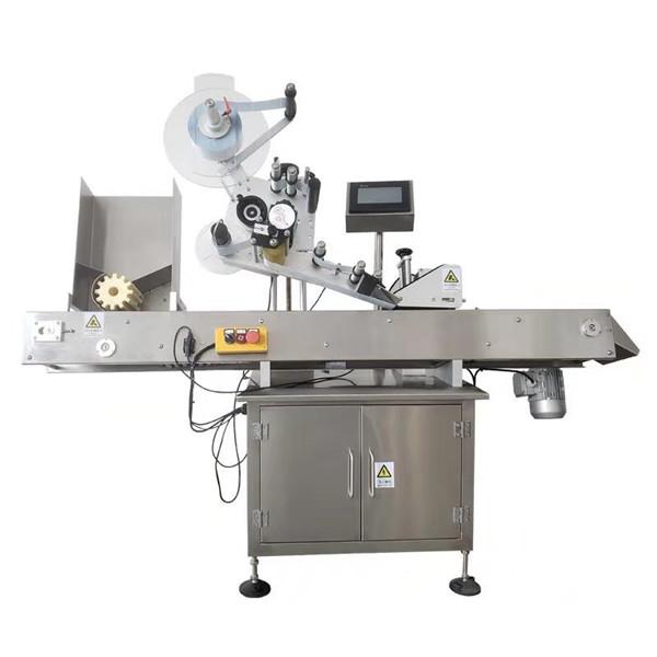 Stroj za etiketiranje okruglih bočica naljepnica od 10 ml s nehrđajućim čelikom Sus304