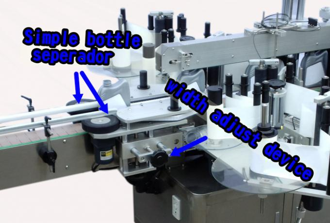 Izvrsna mašina za automatsko označavanje naljepnica s bočnom bočicom deterdženta