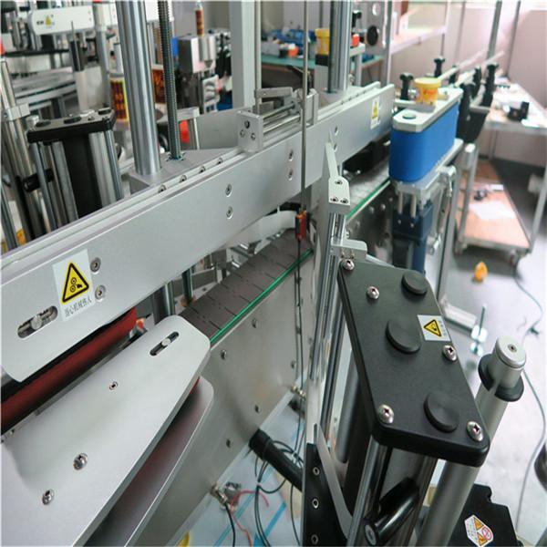 Automatska samoljepljiva mašina za etiketiranje Naljepnice s tri naljepnice 250BS / min Brzina proizvodnje