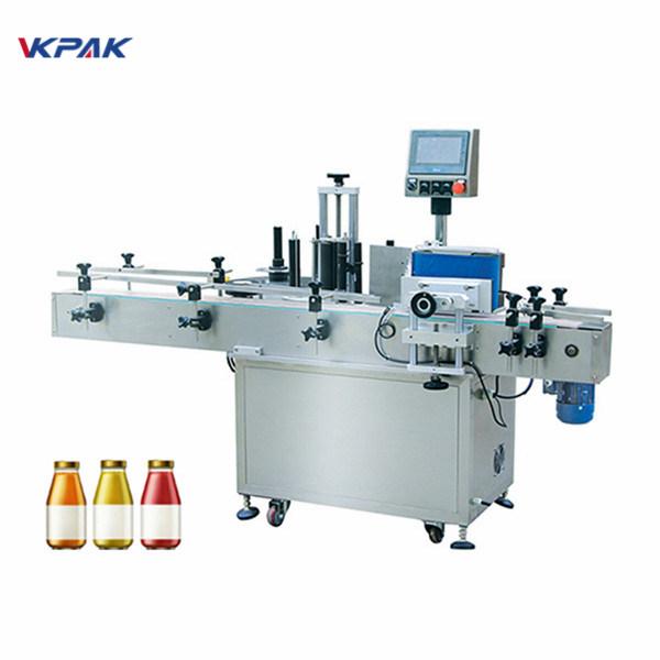 Stroj za etiketiranje naljepnica s okruglom bocom za pitku vodu od 5 l