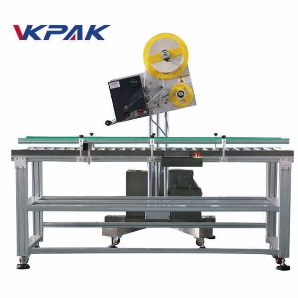 Aplikator naljepnica za automatske omotnice za papirnu kutiju male proizvodnje