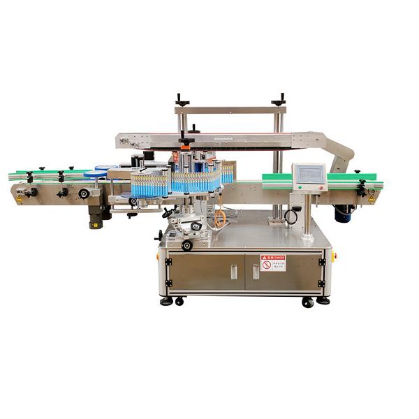 Automatska naljepnica Stroj za etiketiranje dvostranih plastičnih boca Jamstvo 12 mjeseci