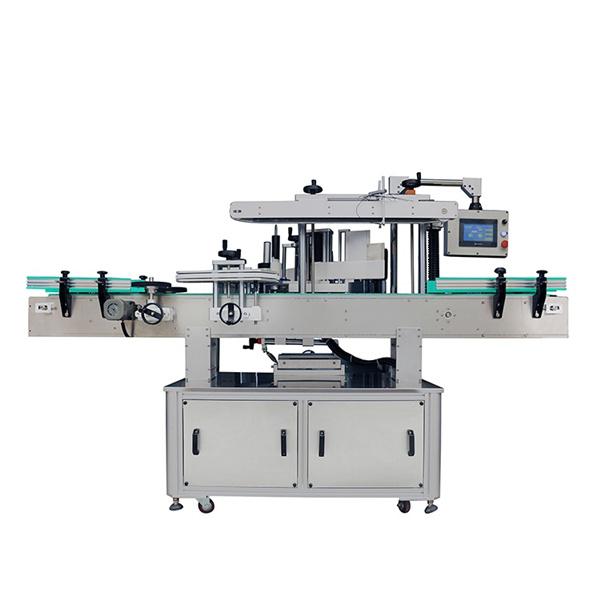 Automatski stroj za etiketiranje dvostranih naljepnica za ovalne i ravne boce šampona