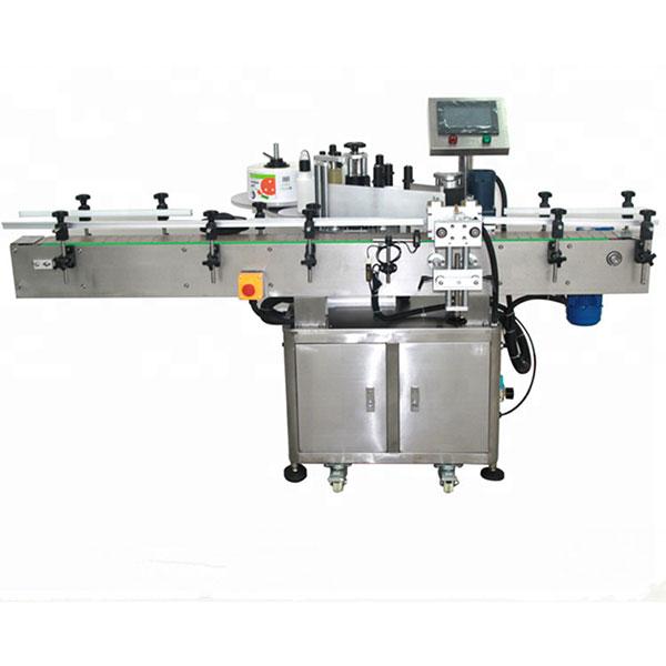 Automatska dvostrana mašina za etiketiranje naljepnica Ravna četvrtasta boca okrugla boca