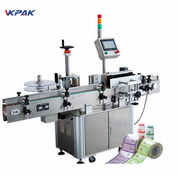 Stroj za apliciranje naljepnica za boce s CE odobrenjem za označavanje okruglih boca