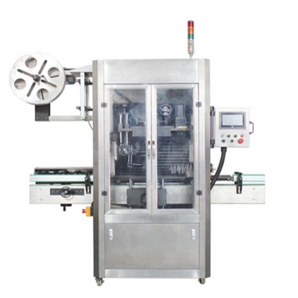 Stroj za etiketiranje naljepnica PET boca sa steznim rukavima za boce bombona