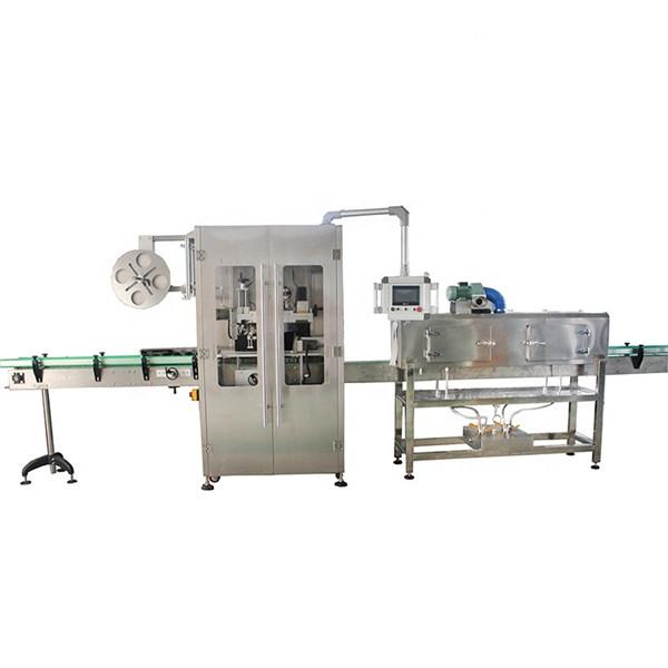 Dvostrani stroj za etiketiranje skupljajućih čaura od nehrđajućeg čelika za razne boce