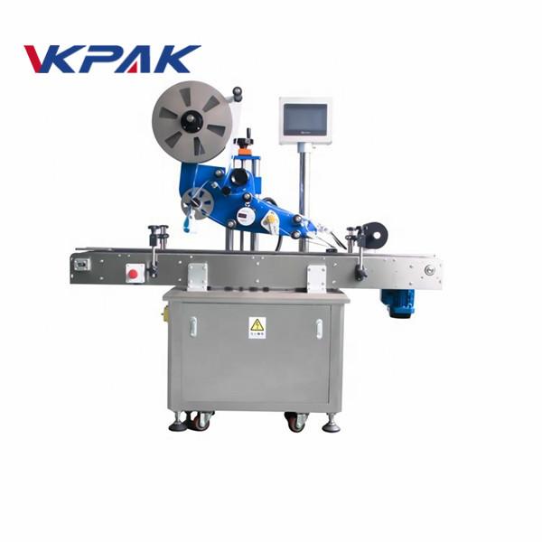 GMP električni ravni automatski stroj za etiketiranje naljepnica za avionsku bocu