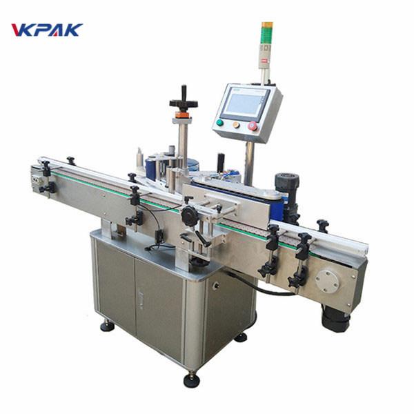 Stroj za etiketiranje okruglih boca velike brzine za automatsku proizvodnju mlijeka i sokova