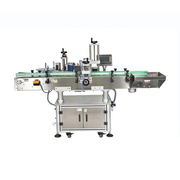 Inteligentna PLC kontrola Automatski stroj za etiketiranje dvostranih naljepnica