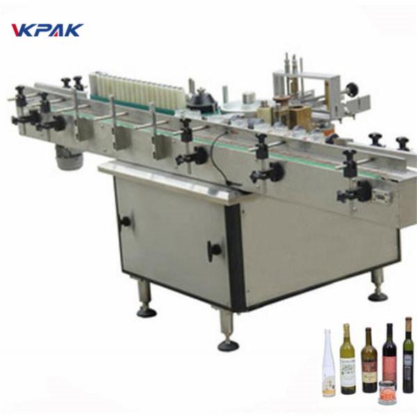 Stroj za nanošenje naljepnica za ljepilo i hladno ljepilo za različite boce automatski