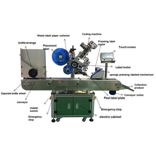 Stroj za etiketiranje farmaceutskih naljepnica promjera boca promjera 10-30 mm