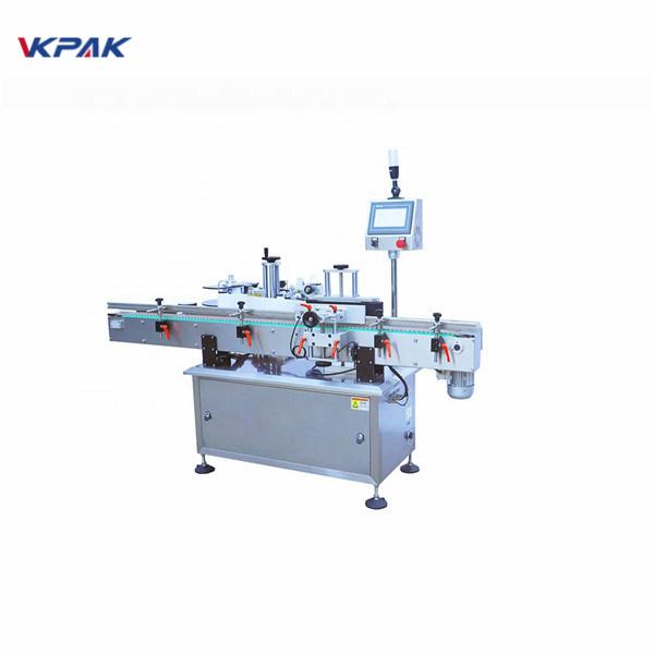 Stroj za apliciranje naljepnica s ravnom površinom hladnog ljepila s okruglom bocom