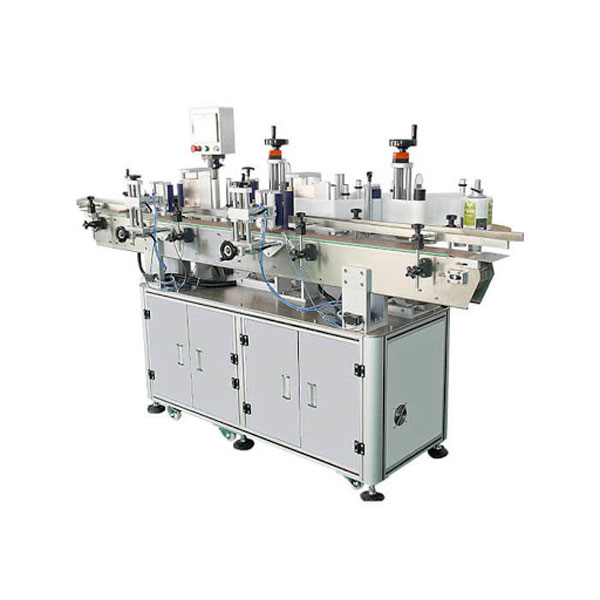 Stroj za etiketiranje naljepnica s kozmetičkim bočicama šampona, duljina spremnika 30-100 mm
