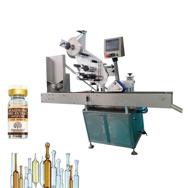 Stroj za etiketiranje naljepnica bočica s malom okruglom bocom za bocu od 10 ml