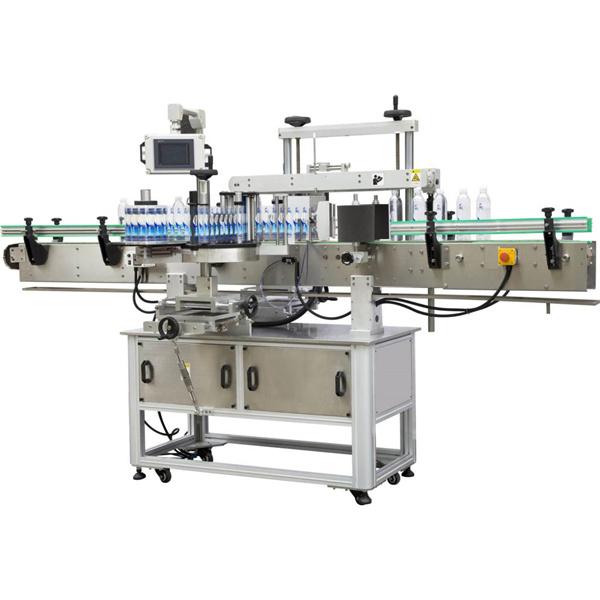 Četvrtasti omotač oko stroja za etiketiranje