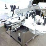 Automatska oprema za označavanje boca Dvostrana naljepnica od staklene boce