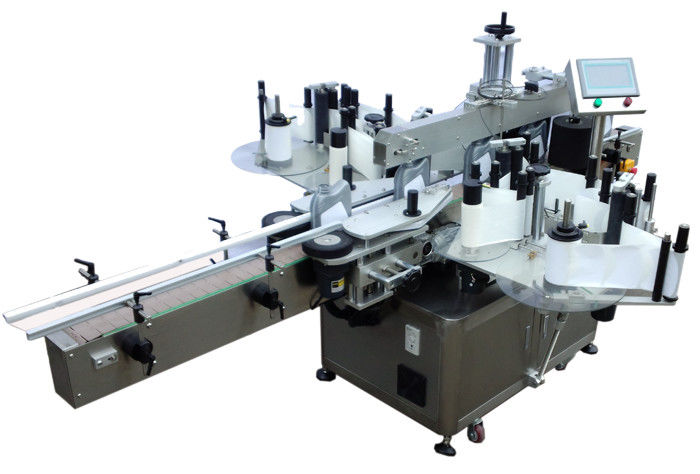 SUS304 Stroj za etiketiranje dvostranih naljepnica ekonomičnog nehrđajućeg čelika