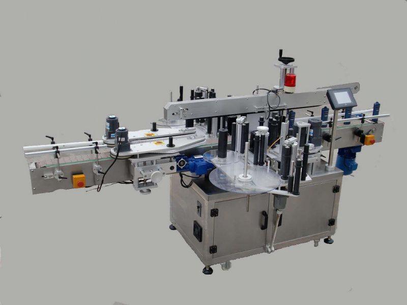 Kina naljepnice automatskog stroja za označavanje naljepnica na bočnoj naljepnici s uređajem za pozivanje i strojem za kodiranje dobavljača