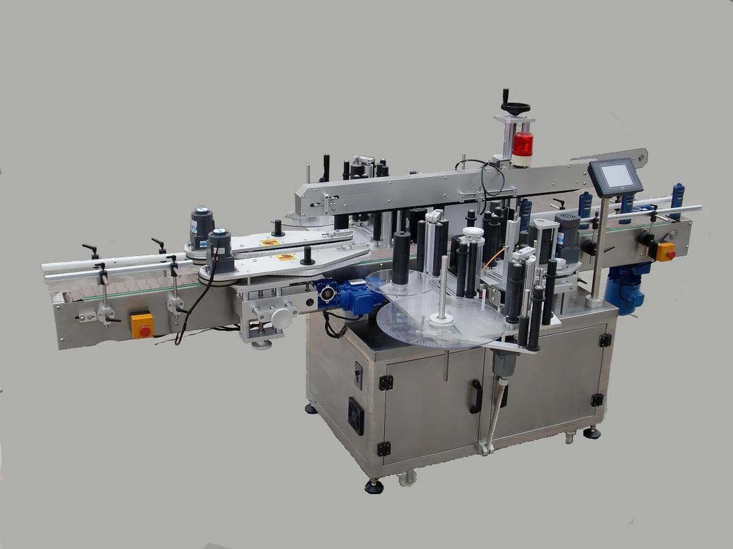 Automatski stroj za etiketiranje dvostranih naljepnica s uređajem za pozivanje i strojem za kodiranje