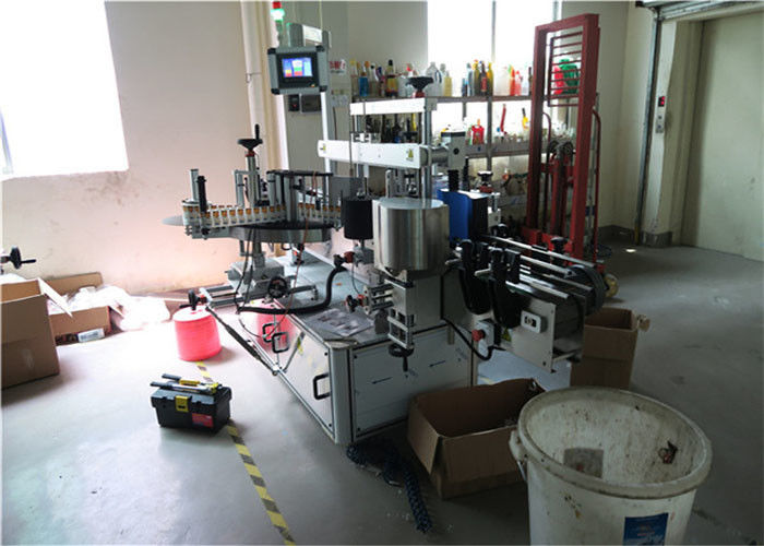 Kina dvostrani stroj za etiketiranje plastične / staklene boce, dobavljač etiketa za kvadratne boce