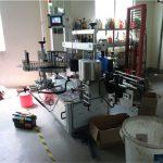 Stroj za dvostrano označavanje plastičnih / staklenih boca, označivač kvadratnih boca