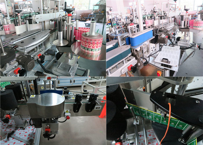 Dnevne boce Stroj za etiketiranje prednjih i stražnjih boca, Stroj za etiketiranje staklenki