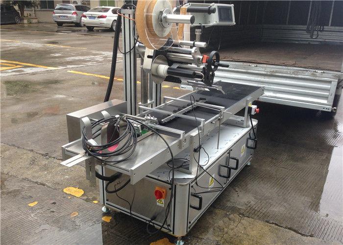 Brzi valjci Vrhunska naljepnica Stroj za upravljanje naljepnicama stroja