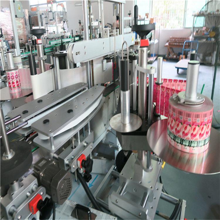 Stroj za automatsko etiketiranje naljepnica s prednje stražnje strane Samoljepljivi 330 mm vanjski promjer