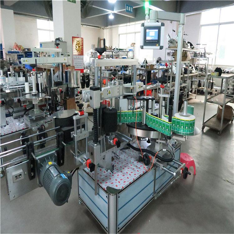 Automatski uređaj za naljepljivanje naljepnica naljepnica, četverokutni stroj za etiketiranje