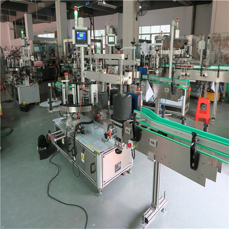 Stroj za označavanje okruglih boca za kućne ljubimce, automatski stroj za nanošenje naljepnica