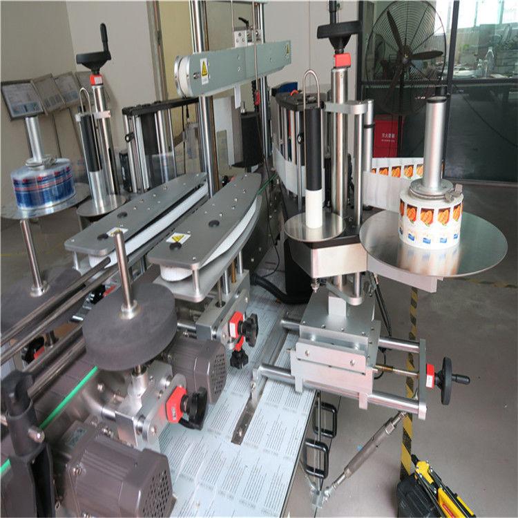Stroj za naljepnicu naljepnica s jednostrukom / dvostranom bokom naljepnice za boce