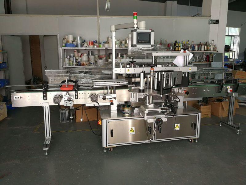 Kina Dobavljač stroja za etiketiranje ravnih boca sa samoljepljivom naljepnicom, brzi 5000-1000B / H