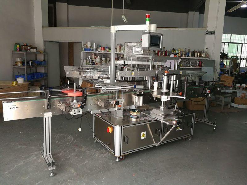 Kina visoko precizni višenamjenski stroj za označavanje ravnih boca, električni pogon