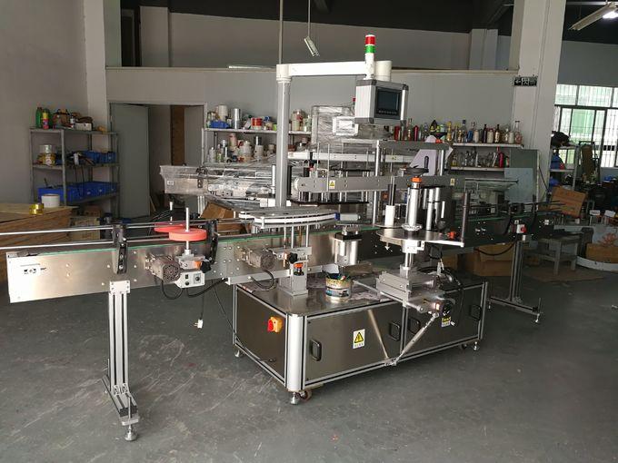 Stroj za etiketiranje ovalne boce, dvije naljepnice na bocama 5000B / H - 8000B / H Kapacitet po satu