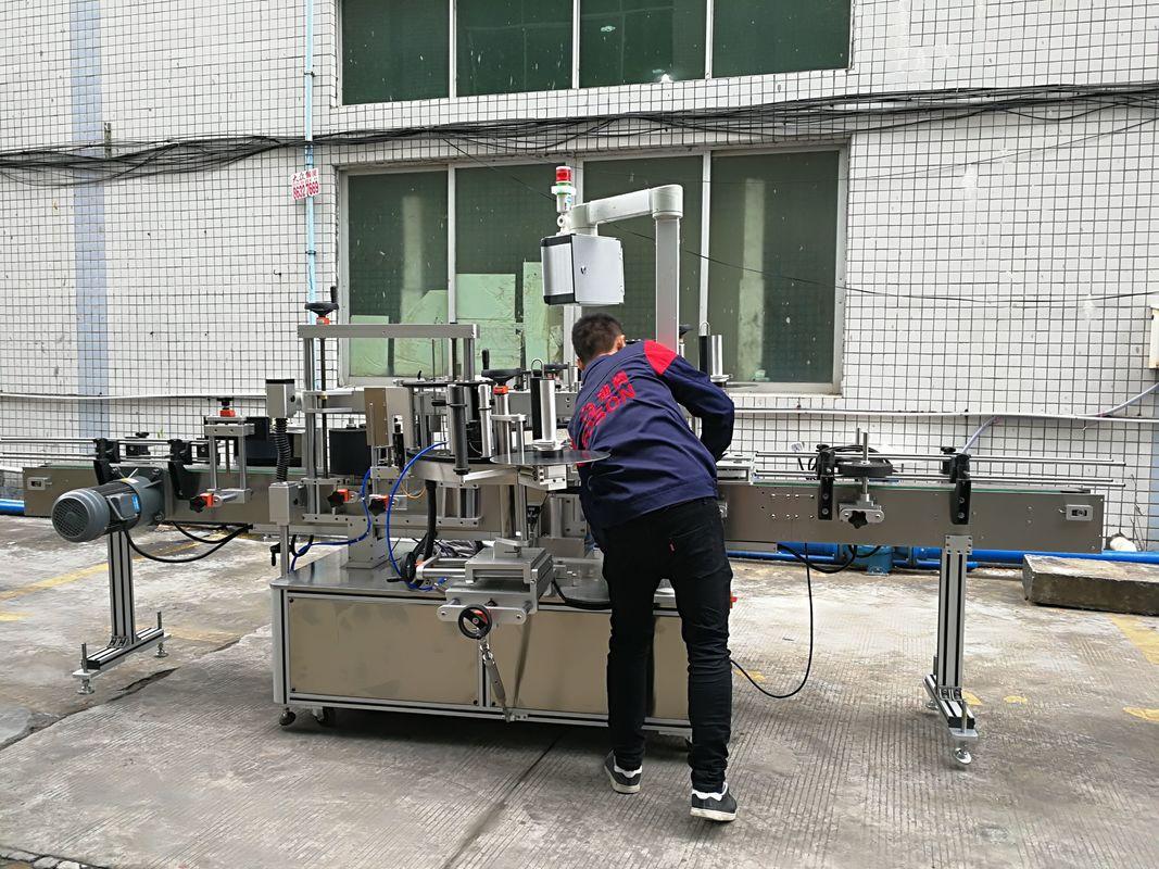 Potpuno automatski stroj za etiketiranje boca s vodom za staklene / PET boce