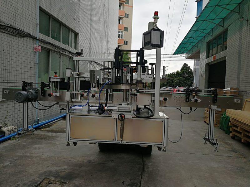 Kina Automatski aplikator naljepnica za naljepnice strojeva za dvostrane naljepnice za dobavljača plastičnih posuda
