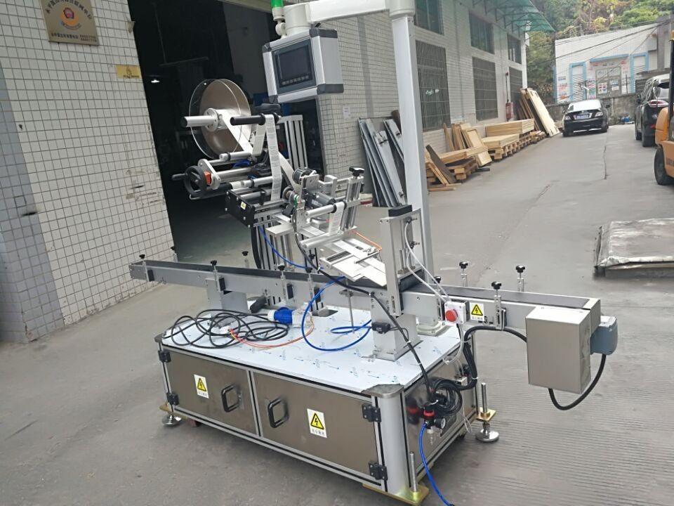 Stroj za etiketiranje naljepnica na vrhu za vrećicu mlaznica na električni pogon