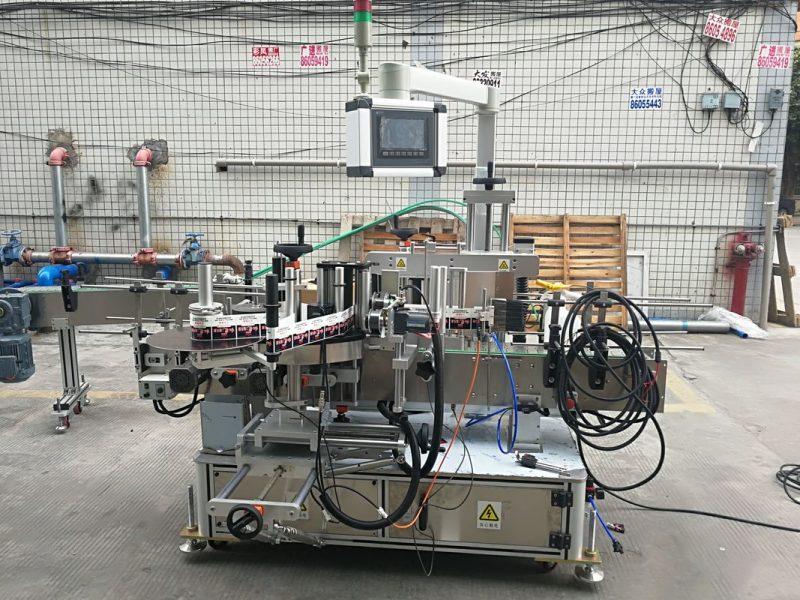 Kina visoko precizni automatski naljepnica dvostrani stroj za etiketiranje ravnih boca dug 2 m dobavljač