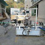 Automatski stroj za etiketiranje ravnih boca s naljepnicama integriran sprijeda i straga