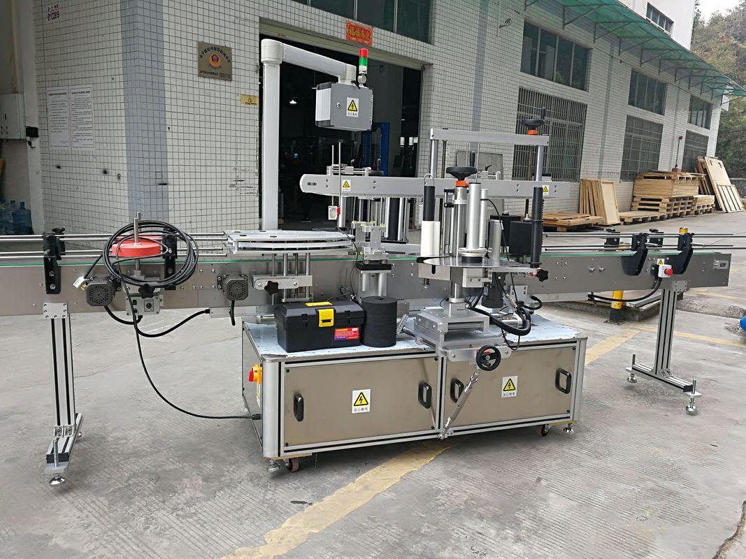 Potpuno automatski stroj za etiketiranje naljepnica s kutnim kartonima 220V 50HZ 1200W