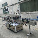 Samoljepljiva naljepnica, obostrani stroj za etiketiranje boca, potpuno automatski