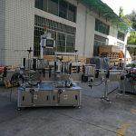 Stroj za etiketiranje naljepnica s ravnim / kvadratnim bocama Potpuno automatski Kapacitet 5000-8000B / H