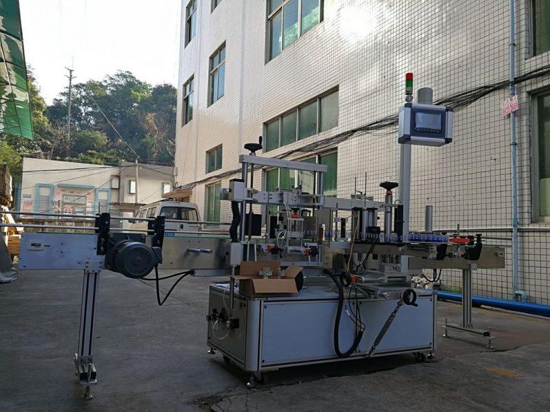 Kina dobavljač visoke preciznosti stroja za etiketiranje ravnih boca s jednom stranom